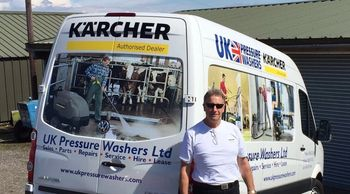 Karcher Authorised Service Agent of Commercial & Industrial Cleaning Equipment Leicester Northampton