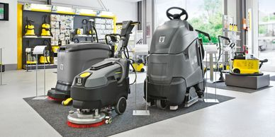 Karcher Authorised Dealer of Commercial & Industrial Floor Scrubbers in Leicester & Northampton
