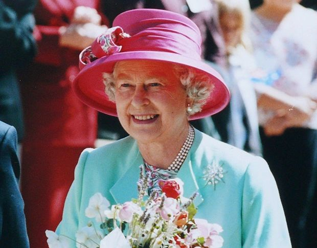 HRH Queen Elizabeth II during her visit to Sovereign Hill, Ballarat in 2000.