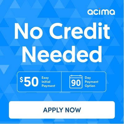 No Credit Check Financing $50 down 90 days same as cash