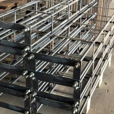 Steel Fabrication Northern Territory Australia cast in plates 'Emu Cages'