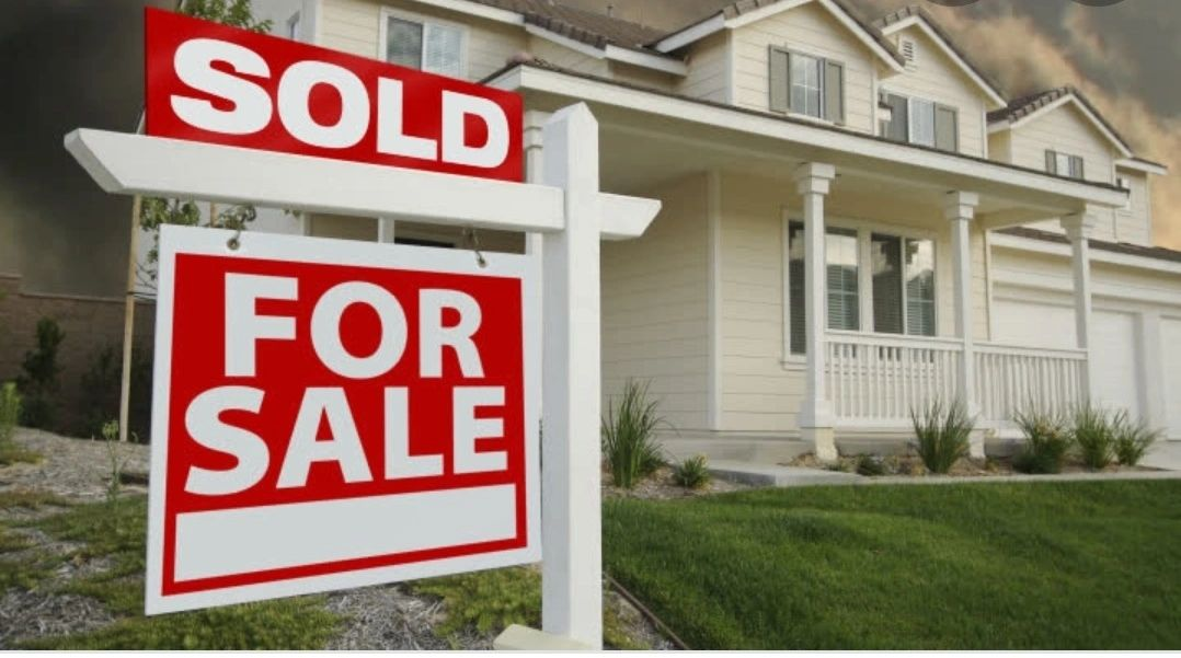 House sold after back taxes and liens are resolved.