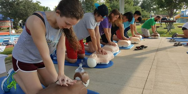 American Red Cross Lifeguarding CPR Training