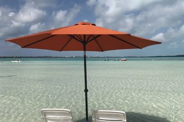 Beach Umbrella In Five Cays, Providenciales Turks and Caicos