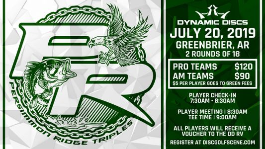 7:30.-8:30 Player Check in (REQUIRED) 8:45 meeting 9:00 Tee off $15 voucher to DD RV