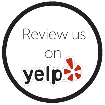 Yelp review button for Courtney Atkins, LMT and Therapyworks clinical and wellness massage