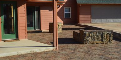Patios, outdoor kitchens, retaining walls, outdoor living and water feature services