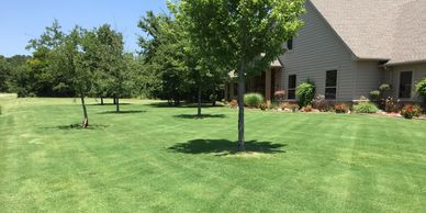 Commercial and residential mowing services.