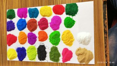 ALL DARK & SHINING COLOUR www.omrangoli.com