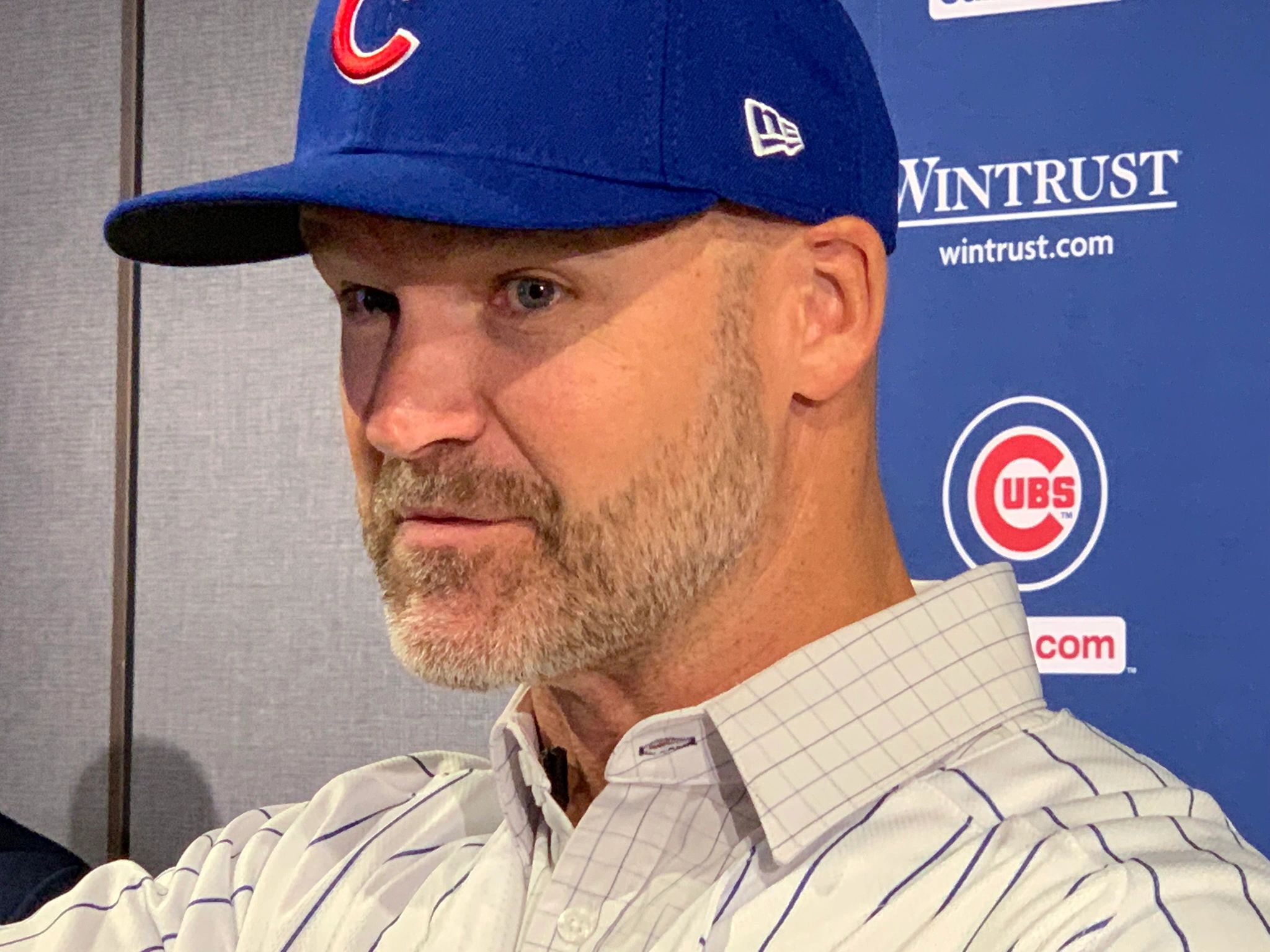 "{""blocks"":[{""key"":""r6ip"",""text"":""New Chicago Cubs manager David Ross sits down with Peggy to talk about managing his friends and his overblown ""Grandpa Rossy"" nice guy image.  EPISODE COMING MID NOVEMBER"",""type"":""unstyled"",""depth"":0,""inlineStyleRanges"":[],""entityRanges"":[],""data"":{}}],""entityMap"":{}}"