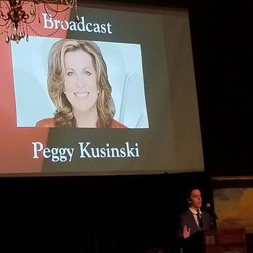 Peggy Kusinski Ring Lardner Award