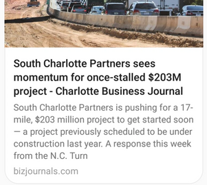 South Charlotte Partners featured in Charlotte Business Journal Article