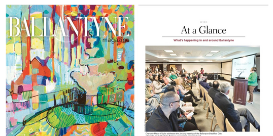 South Charlotte Partners featured in Ballantyne Magazine