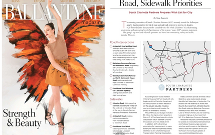 South Charlotte Partners highlighted in the Ballantyne Magazine's Fall 2018 Issue