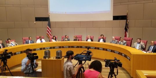 South Charlotte Partners addresses Charlotte City Council about Funding