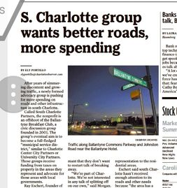 South Charlotte Partners featured in the Charlotte Observer