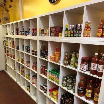 We also have a grocery store full of Mexican Products such as chips, salsa, torti