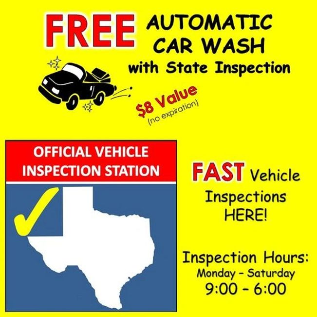 Vehicle Inspection Services In Austin Tx University Car Wash And