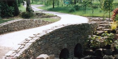 Dry Stone walling. Haslemere Surrey. Simply Stonework