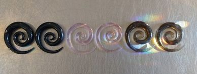 Large gauge Pyrex Super Spirals