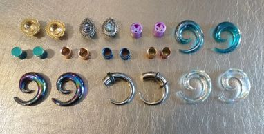 Beautiful range of Body jewelry styles and sizes