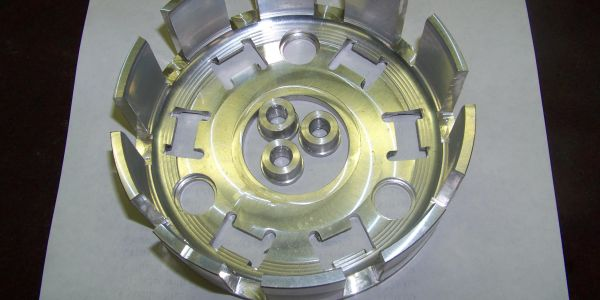 Billet  clutch basket for 79-82 ,XL,FT 500 HONDA Can use up to 8 plates if you use the ASCOT CENTER