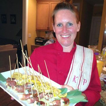 Amy Hakola, private chef, catering