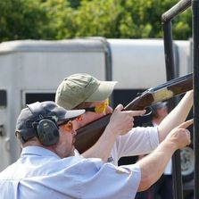 Clay pigeon lessons in Tunbridge Wells by Kent & Sussex Shooting School with BASC shotgun Coaches.