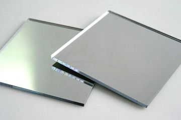 Clear plate mirror sheets. Cut to order custom sizes available.