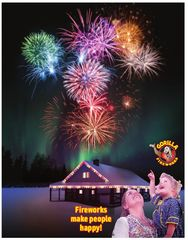Gorilla Fireworks Fireworks Make People Happy