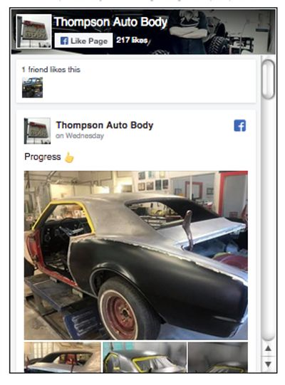Home Page Thompson Auto Body Portland Or