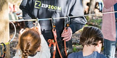 Zipline training course