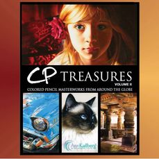 CP Treasures by Ann Kullberg, amazing artworks in colored pencil