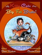 Children's book My Kitty Cats Are Big Fat Brats, Tayen Lane Publishing