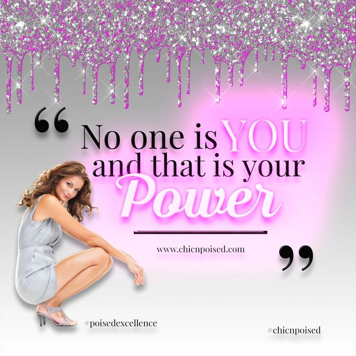 No one is You, that is your Power