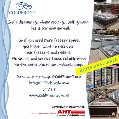 freezers, COVID-19, chillers, stock up