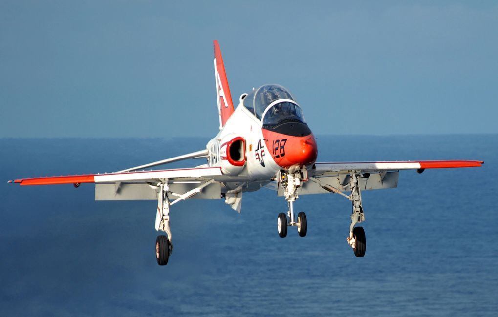 T-45C GOSHAWK TRAINING AIRCRAFT