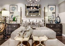 Bedroom by Century Furniture.