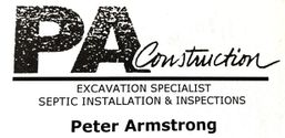 PA Construction and Septic