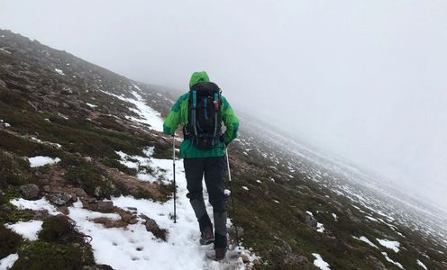 Winter hike, Cairngorms National Park