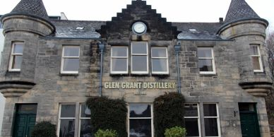 Glen Grant  Whisky Distillery Elgin Road,  Rothes Aberlour Moray Scotland