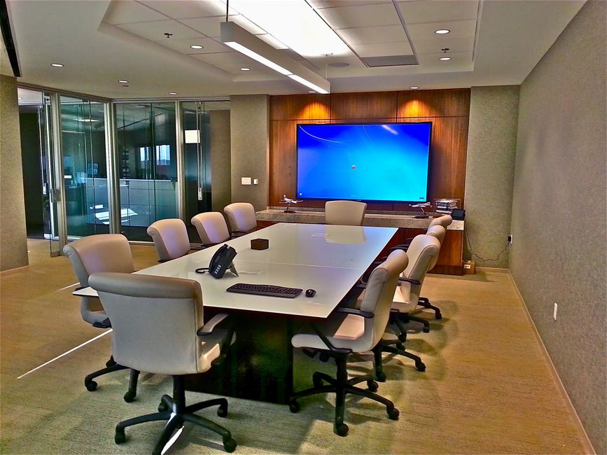 commercial building conference room