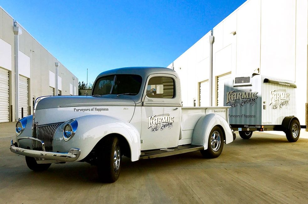 1940 Ford Ice Cream Pickup Truck
