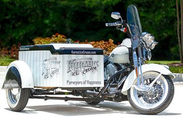 Harley Davidson Ice Cream Motorcycle