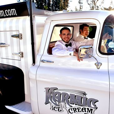 Karmic Ice Cream truck in Coral Springs
