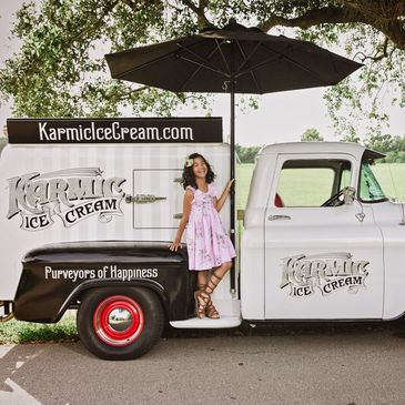 Karmic Ice Cream's 1958 Chevy Ice Cream Truck