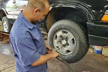 Rotate your tires for even wear and longer life.
