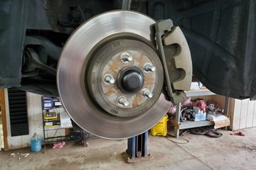 Brake pads and rotors replaced  - call 716-625-9100 for an appointment