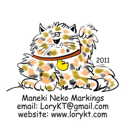 Maneki Neko Markings