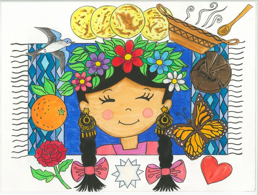 The Stellar Queen of Oaxaca is a children's story